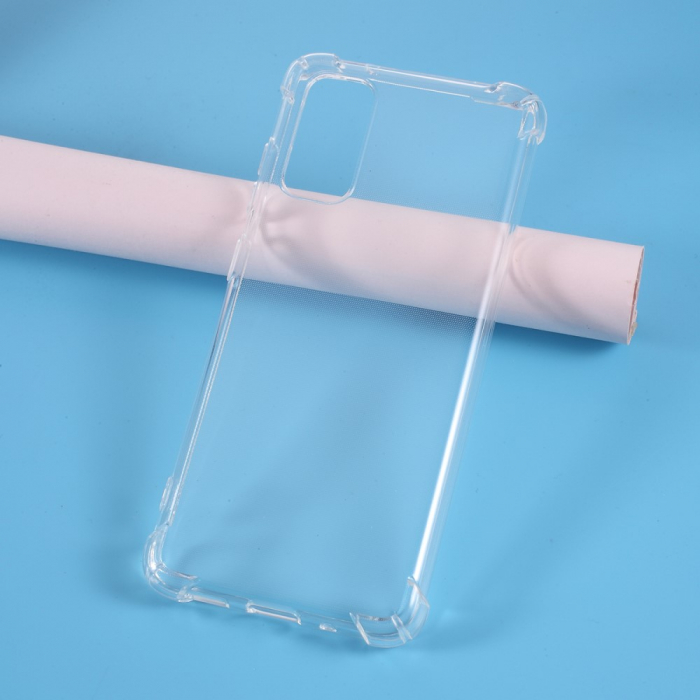 Husa silicon transparent anti shock Samsung S20 plus 0