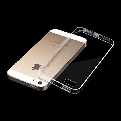Husa silicon slim Iphone 5/5s - transparent [0]