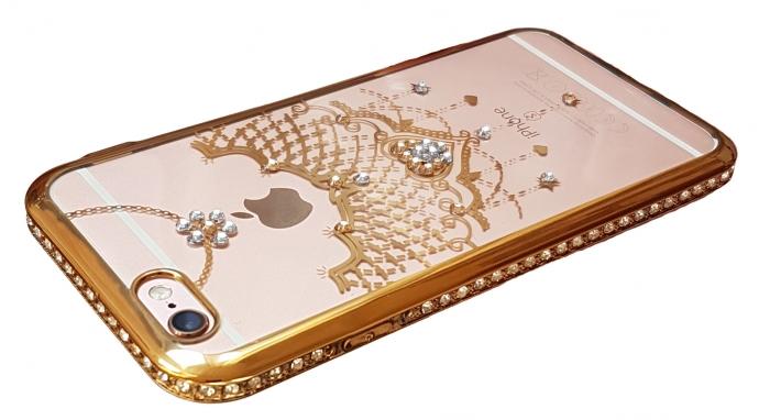 Husa silicon pietricele margine Iphone 6/6s - 3 modele 3