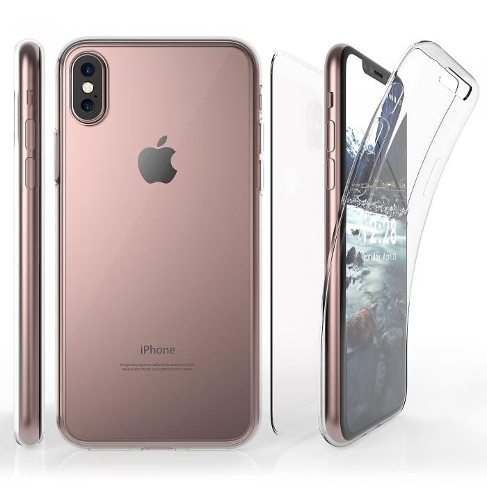 Husa silicon 360 fata+spate Iphone X/Xs 0