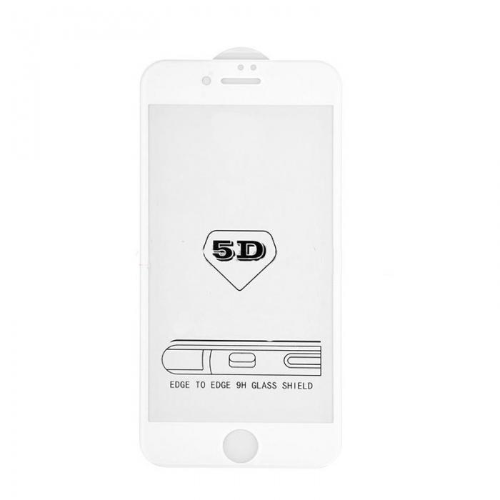Folie sticla 5D Iphone 7/8 - 2 culori 0