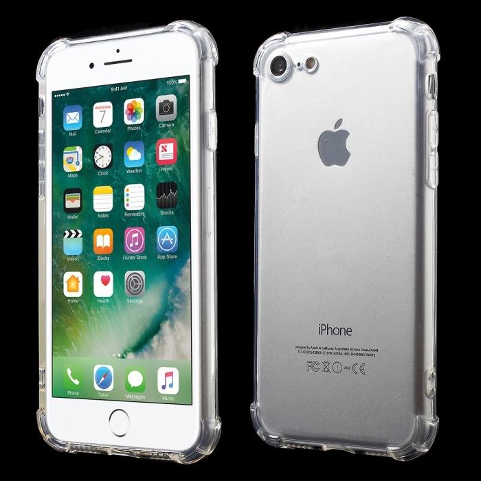 Husa silicon transparent anti shock Iphone 7/8+ 0