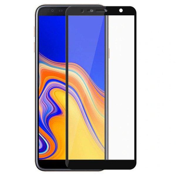 Folie sticla 5D Samsung J6 + - negru [0]