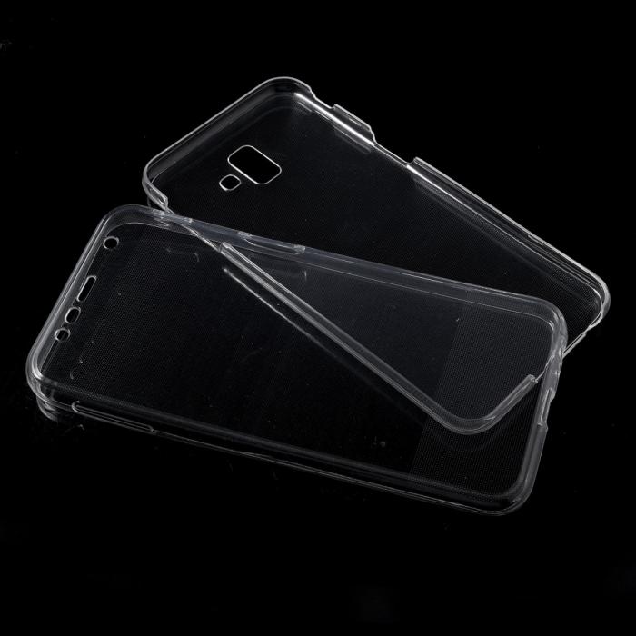Husa silicon 360 fata+spate Samsung J4 plus [0]