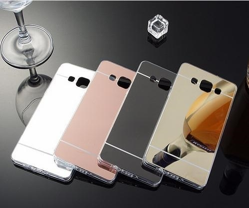 Husa silicon spate oglinda Samsung Grand prime - 2 culori 0