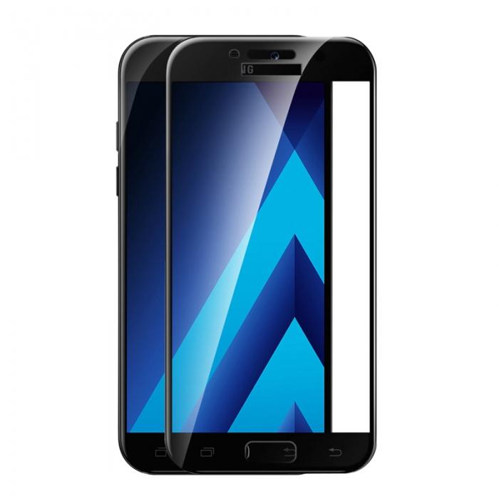 Folie sticla 5D Samsung A5/A8 (2018), Negru [0]