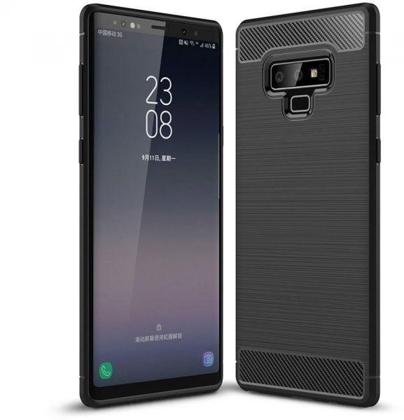 Husa silicon carbmat Samsung Note 9 0