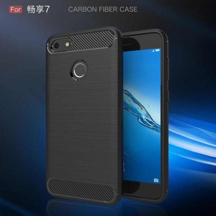 Husa silicon carbmat Huawei P8/P9 lite (2017) 0