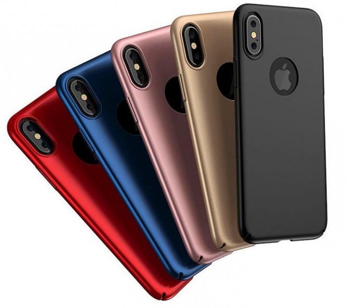 Husa plastic slim mat Iphone 8 - 5 culori 0