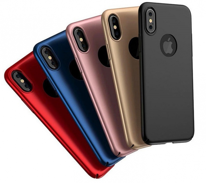 Husa plastic slim mat Iphone Xr - 4 culori [0]