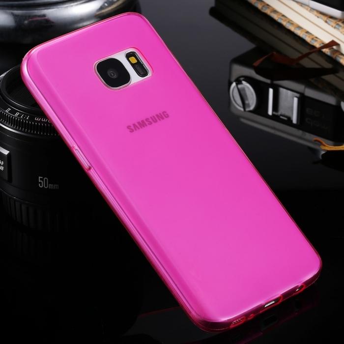 Silicon slim Samsung S6 edge - 2 culori 1