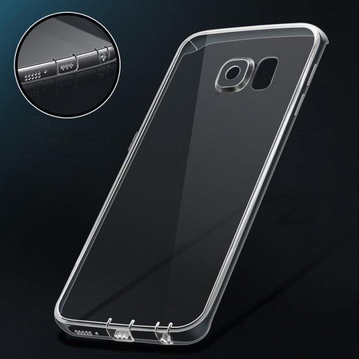 Silicon slim Samsung S6 edge - 2 culori 0