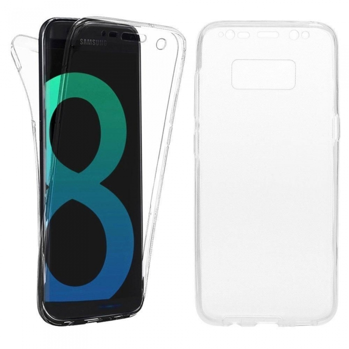 Husa silicon 360 fata+spate Samsung S8+ 0