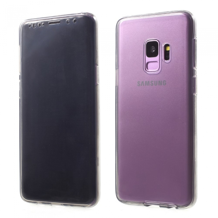 Husa silicon 360 fata+spate Samsung S9+ 0