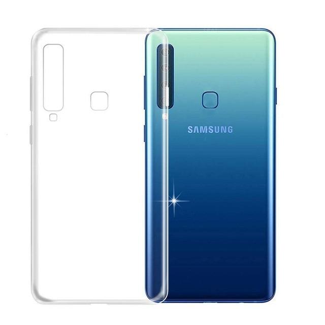 Silicon slim Samsung A9 (2018) - transparent 0