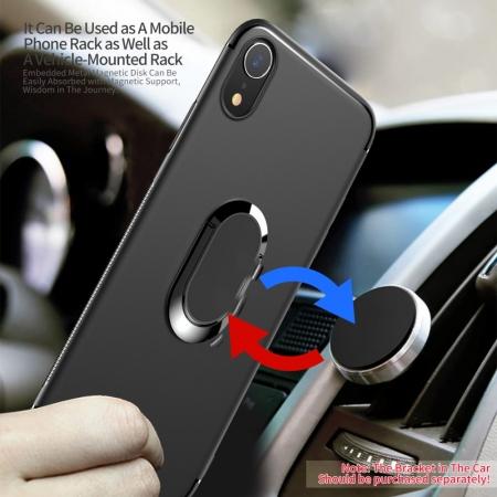 Husa armura magnetica mata Iphone Xs Max - negru1