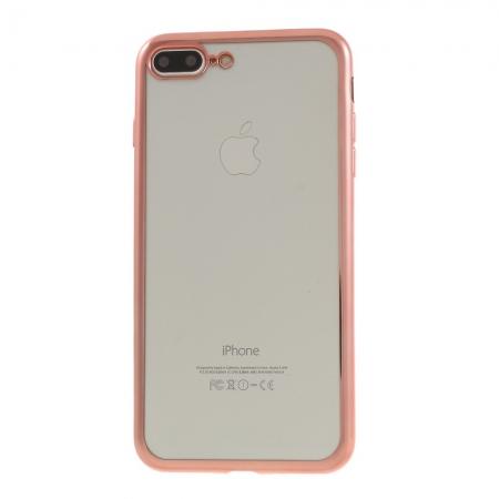Husa silicon placat margine Iphone 7+1