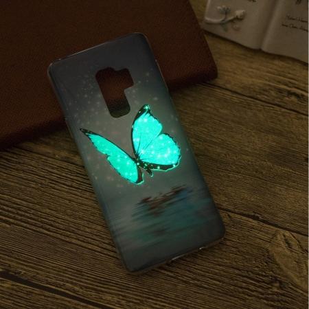 Husa silicon design lucios fosforescent Samsung S9+ - 5 modele9