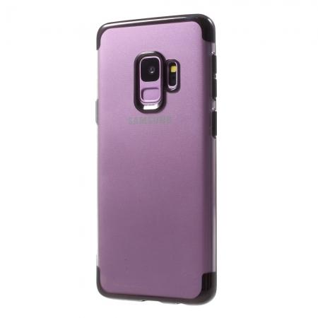 Husa silicon placat sus-jos Samsung S9 - 4 culori0