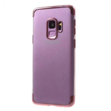 Husa silicon placat sus-jos Samsung S9 - 4 culori3