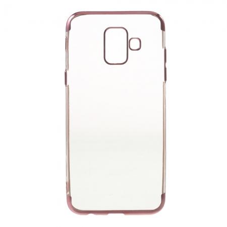 Husa silicon placat sus-jos Samsung A6 (2018)1