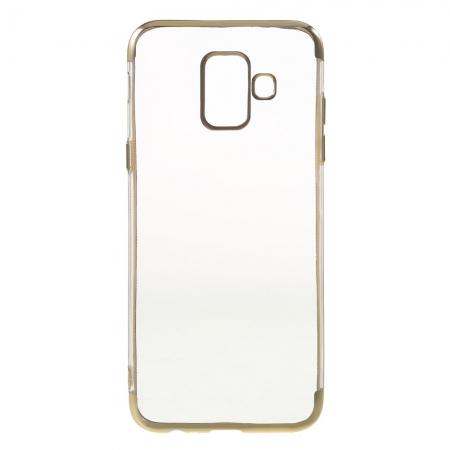 Husa silicon placat sus-jos Samsung A6 (2018)2
