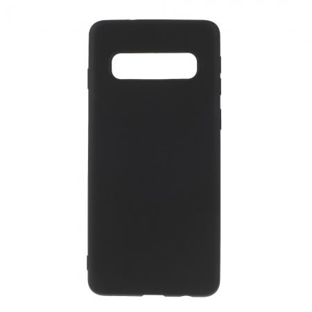 Husa silicon slim mat Samsung S10 plus negru0