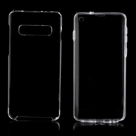 Husa silicon 360 fata+spate Samsung S10 plus1