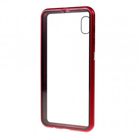 Bumper magnetic sticla fata-spate Samsung A50 - 3 culori [2]