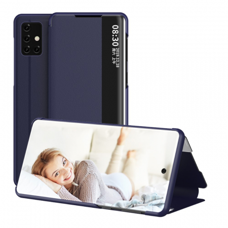 Husa smart clear view Samsung A41 - 5 culori0