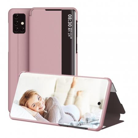 Husa smart clear view Samsung A20e - 5 culori4