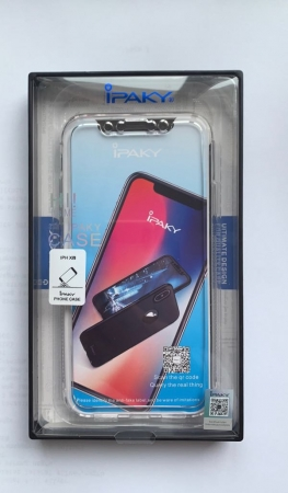 Husa Ipaky 360 Iphone X/Xs - transparent4