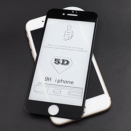 Folie sticla 5D Iphone 7/8 - 2 culori [1]