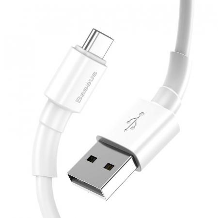 Cablu USB Baseus Mini USB-C  3A 1m (White) [1]