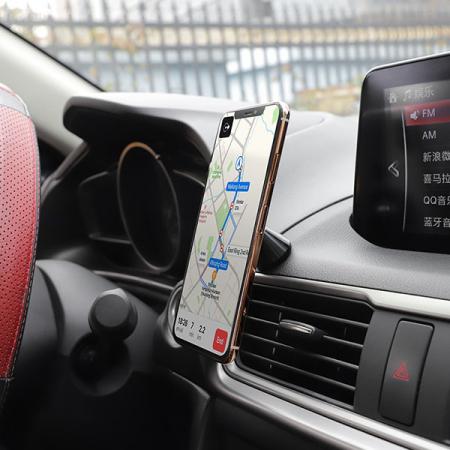 Suport auto Hoco CA46 magnetic cu adeziv2