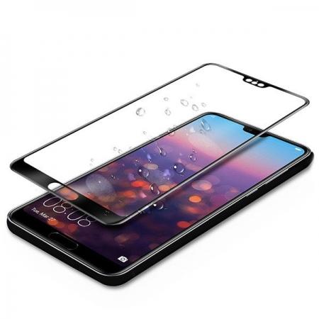 Folie sticla 5D Huawei P20 lite, Negru0