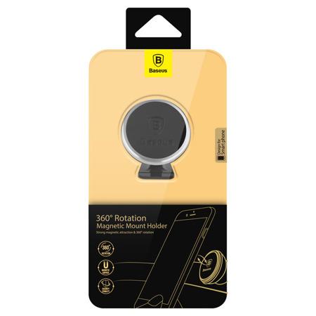 Suport auto Baseus Magnetic pentru smartphone - argintiu [5]