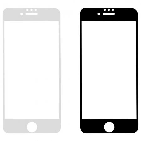 Folie sticla 4D Iphone 7/8+ - 2 culori0