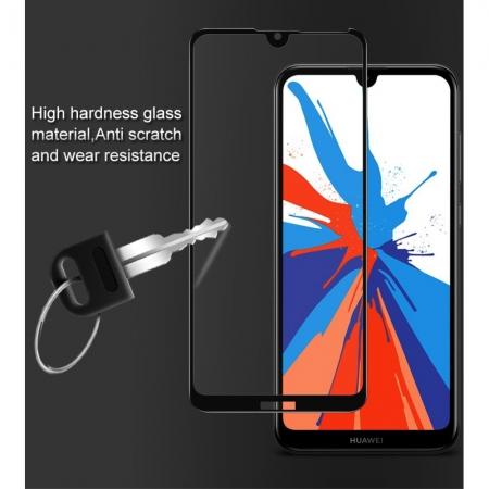 Folie sticla 5D Huawei Y7 (2019) - negru1