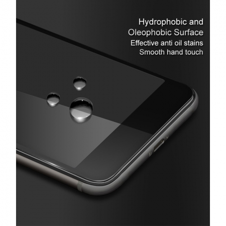 Folie sticla 5D Huawei Y7 (2019) - negru2