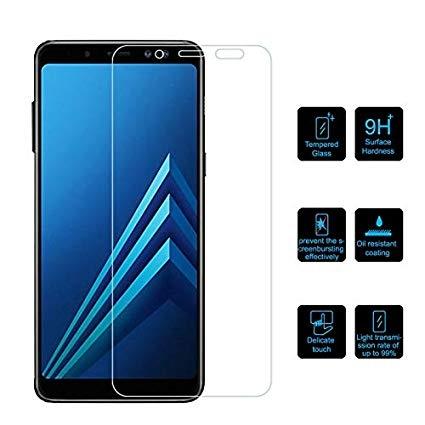 Folie sticla 5D Samsung A9 (2018) - negru [2]