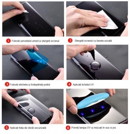 Folie sticla UV Samsung S9 plus4