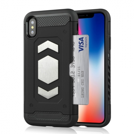 Husa armura auto Iphone X/Xs - 3 culori0