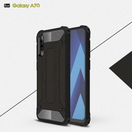 Husa armura strong Samsung A70, Negru0