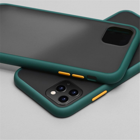 Husa bumper mat iPhone 12 Pro- 4 Culori [4]