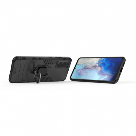 Husa armura inel Samsung A42 5G - Negru [1]