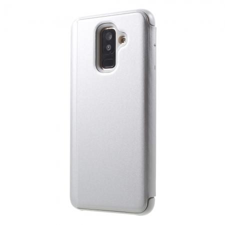 Husa clear view Samsung J6 Plus - 2 culori [1]