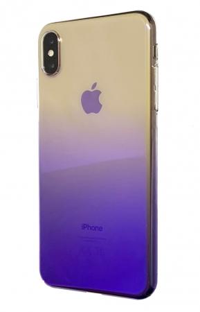 Husa plastic degrade Iphone Xs Max - 2 culori0