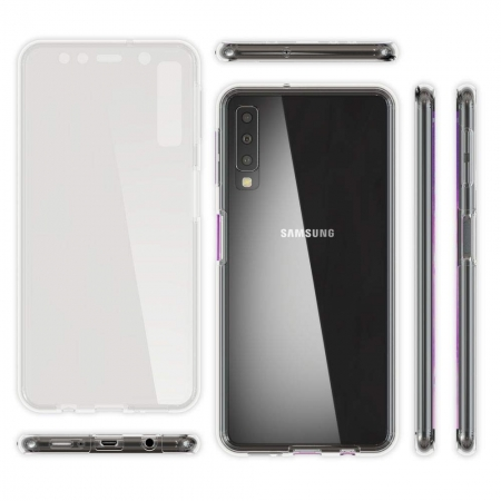 Husa silicon 360 fata+spate Samsung A501