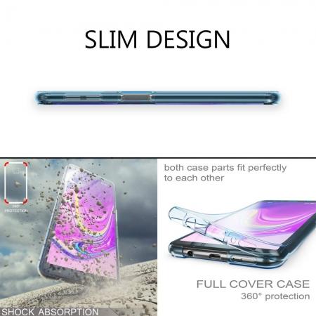 Husa silicon 360 fata+spate Samsung A503